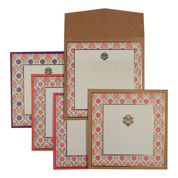 Designer Wedding Cards - D-1538
