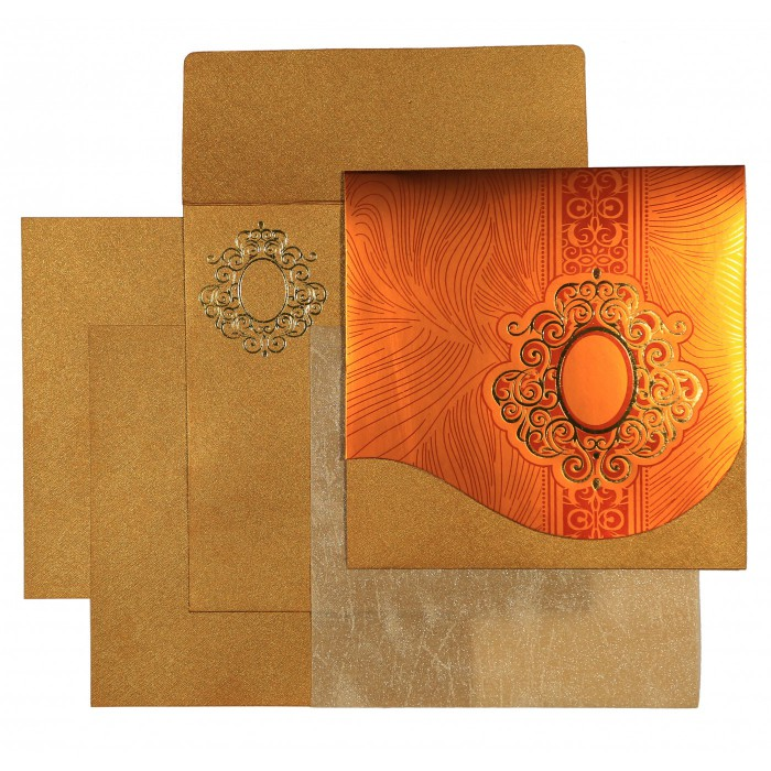 Designer Wedding Cards - D-1549