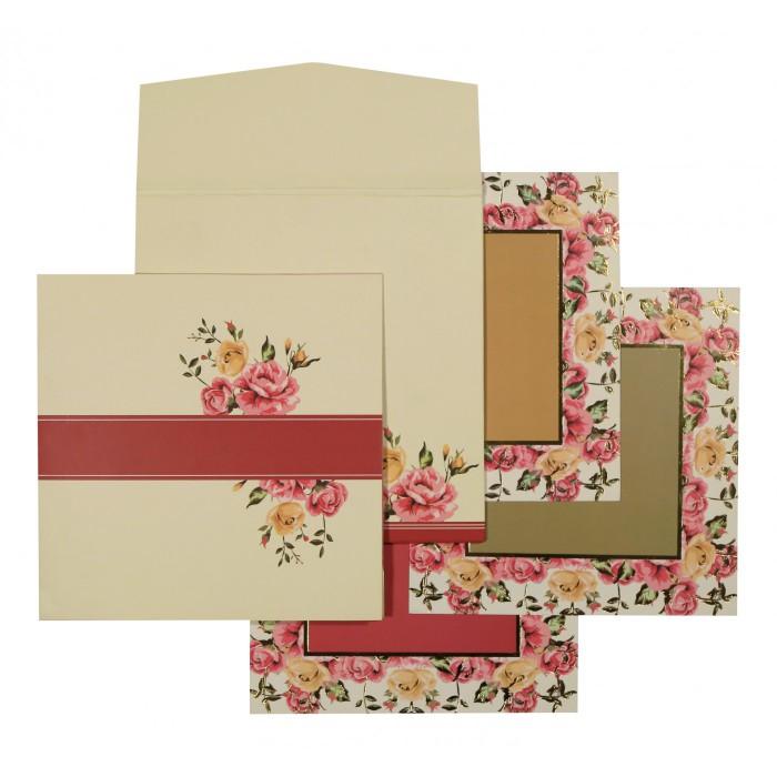 Designer Wedding Cards - D-1551