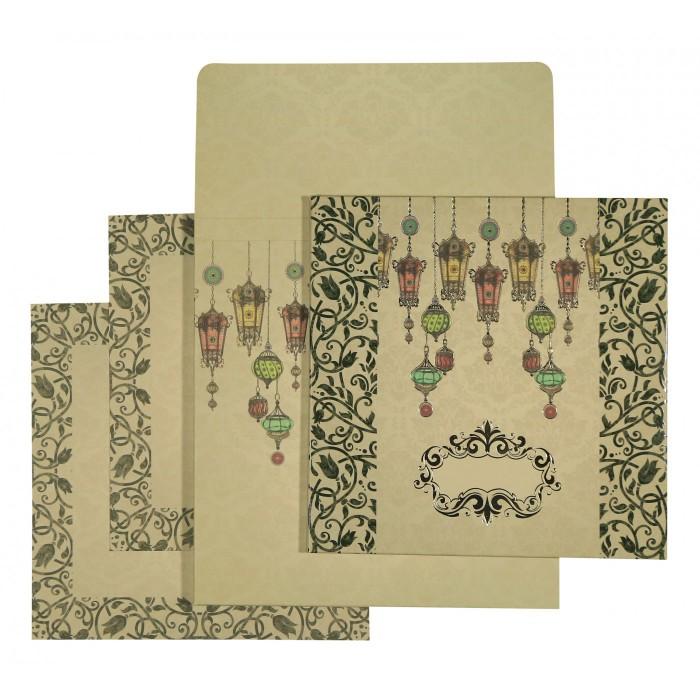 Designer Wedding Cards - D-1552