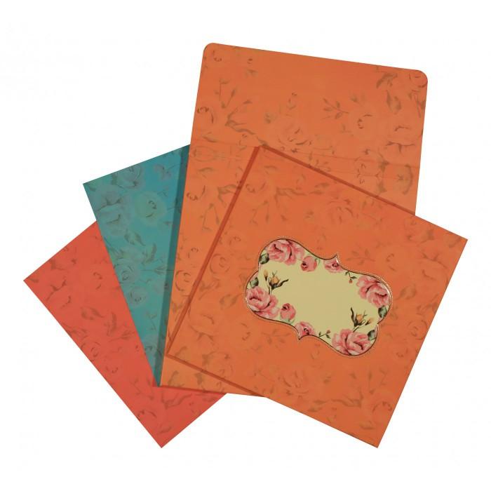 Designer Wedding Cards - D-1553