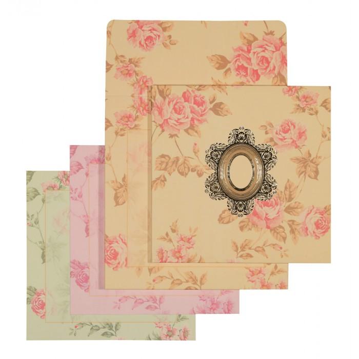 Designer Wedding Cards - D-1555