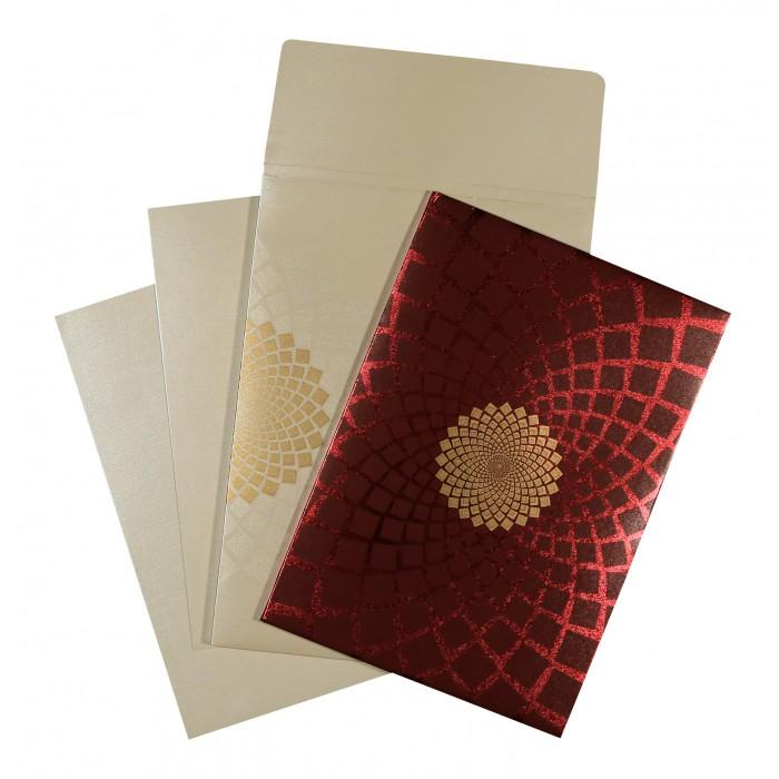 Designer Wedding Cards - D-1560