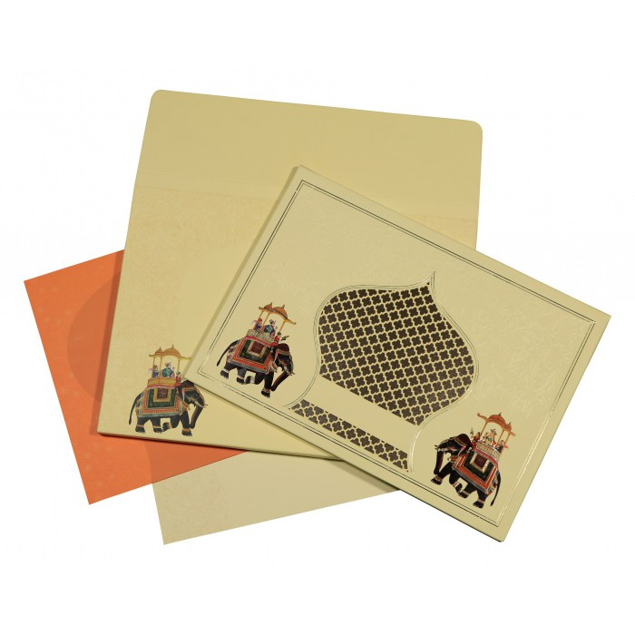 Designer Wedding Cards - D-1573
