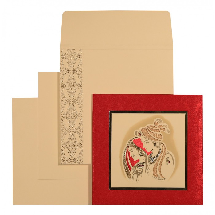 Designer Wedding Cards - D-1577