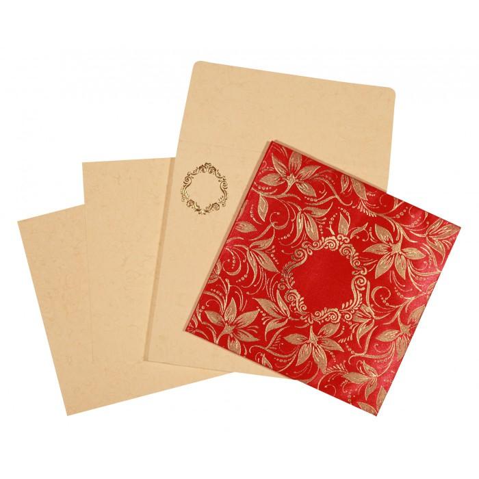 Designer Wedding Cards - D-1582