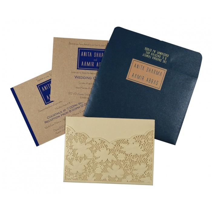 Designer Wedding Cards - D-1586