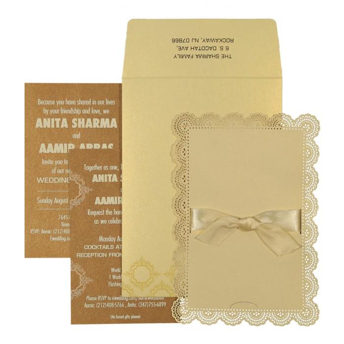 Designer Wedding Cards - D-1588