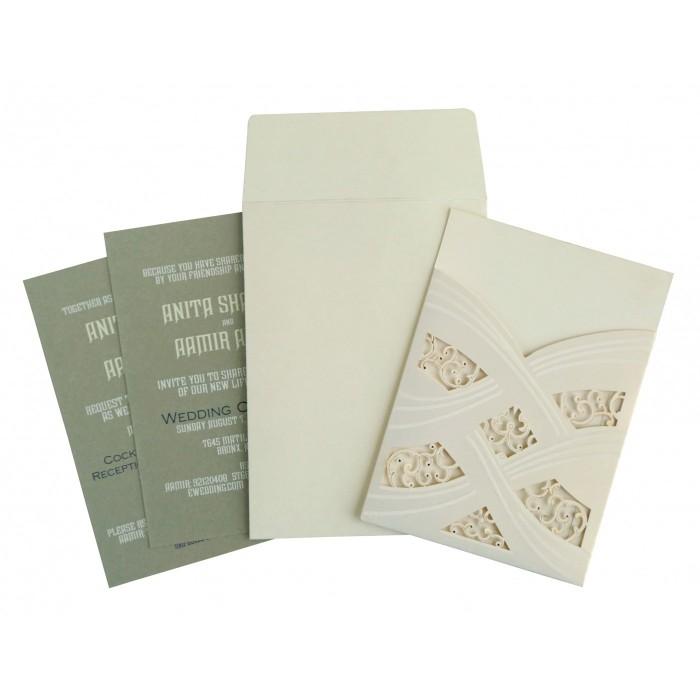 Designer Wedding Cards - D-1590