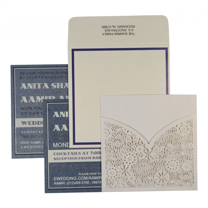 Designer Wedding Cards - D-1593