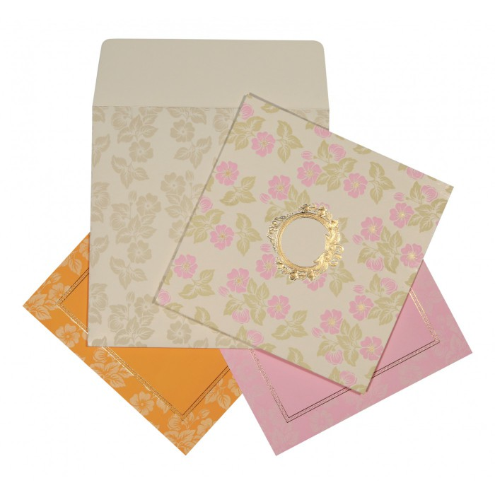 Designer Wedding Cards - D-1596
