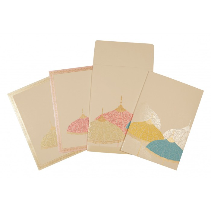 Designer Wedding Cards - D-1600