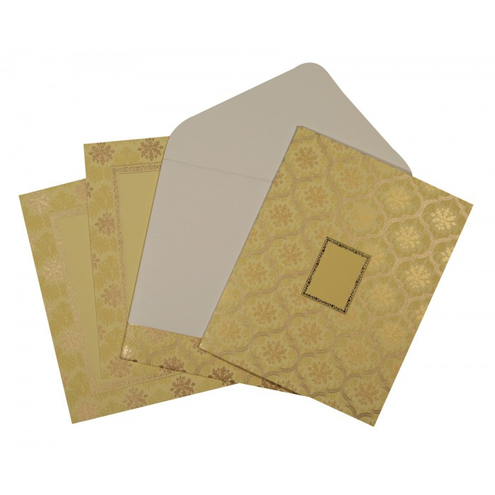 Designer Wedding Cards - D-1602