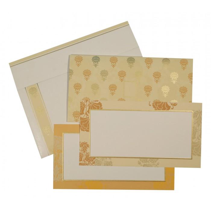 Designer Wedding Cards - D-1604