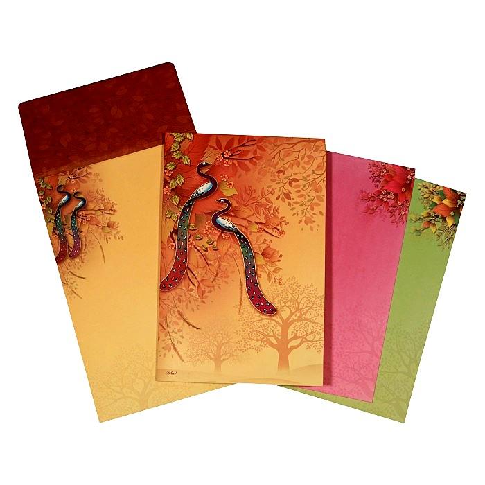 Designer Wedding Cards - D-1610