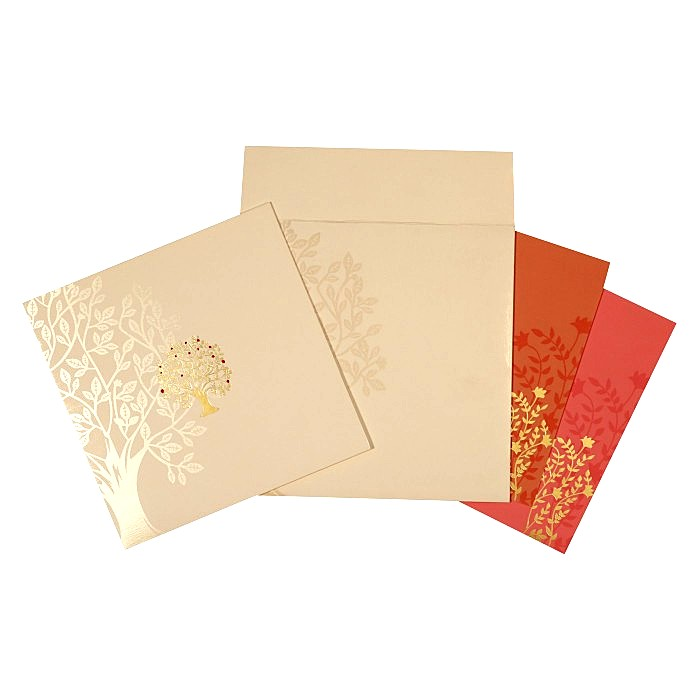 Designer Wedding Cards - D-1614