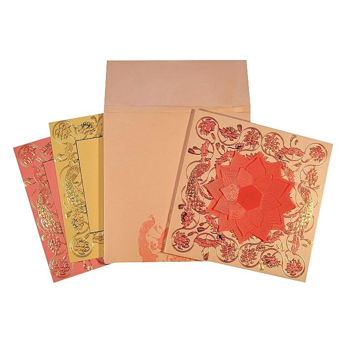 Designer Wedding Cards - D-1620