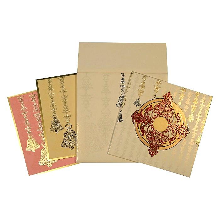 Designer Wedding Cards - D-1623