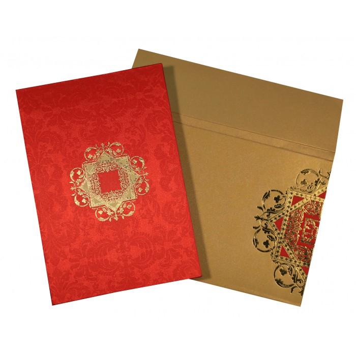 Designer Wedding Cards - D-1624