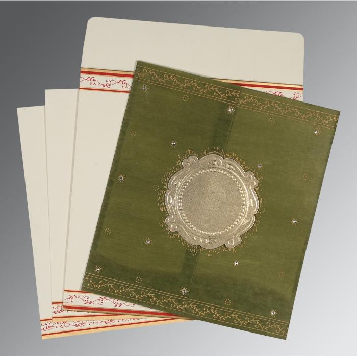 Designer Wedding Cards - D-8202C