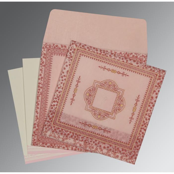 Designer Wedding Cards - D-8205J