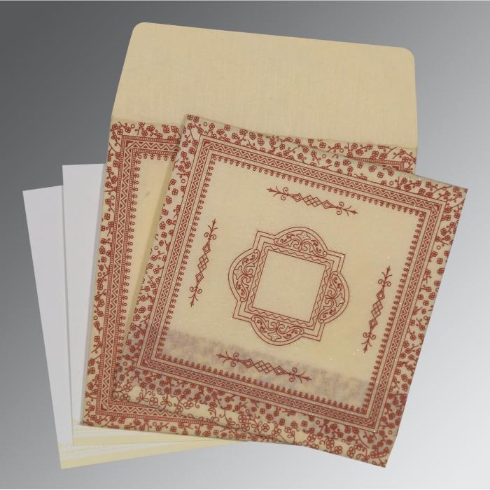 Designer Wedding Cards - D-8205O