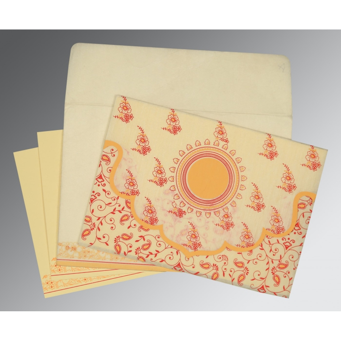 Designer Wedding Cards - D-8207A