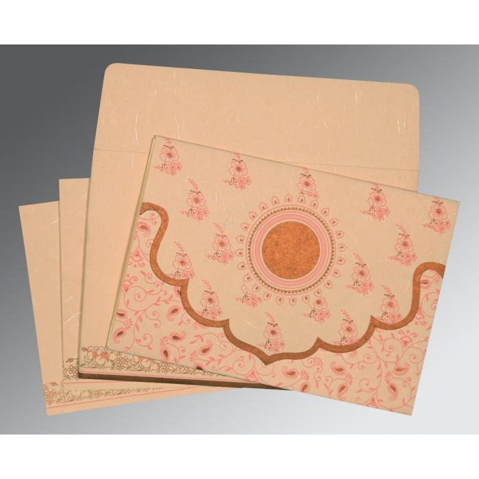 Designer Wedding Cards - D-8207C