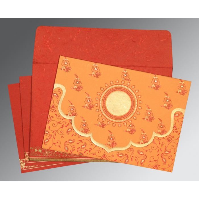 Designer Wedding Cards - D-8207E