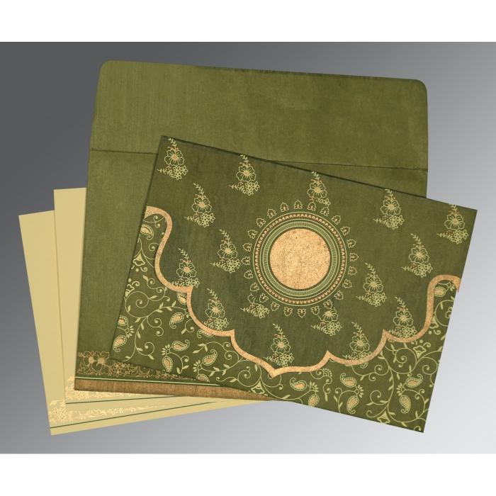 Designer Wedding Cards - D-8207H