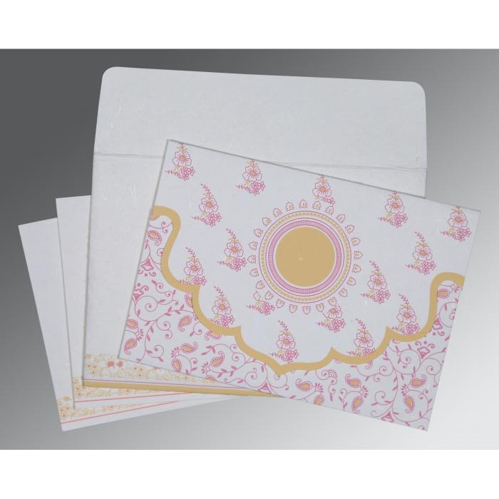 Designer Wedding Cards - D-8207I