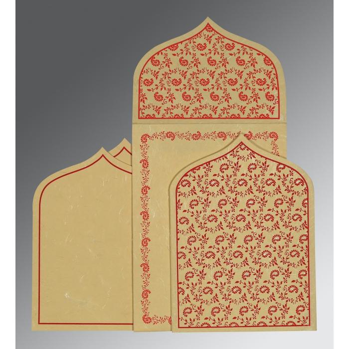 Designer Wedding Cards - D-8208E