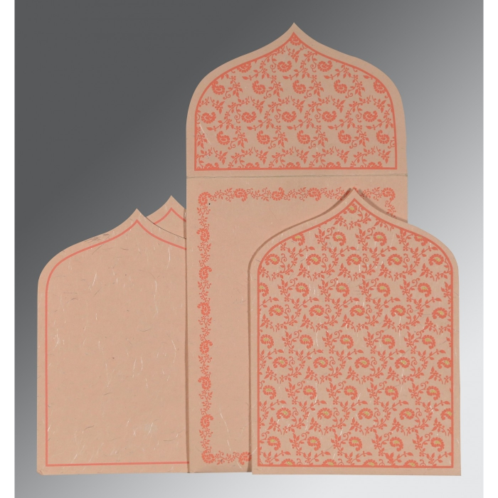 Designer Wedding Cards - D-8208F