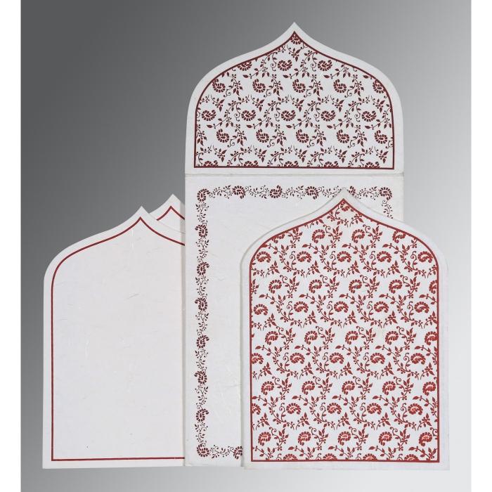Designer Wedding Cards - D-8208I