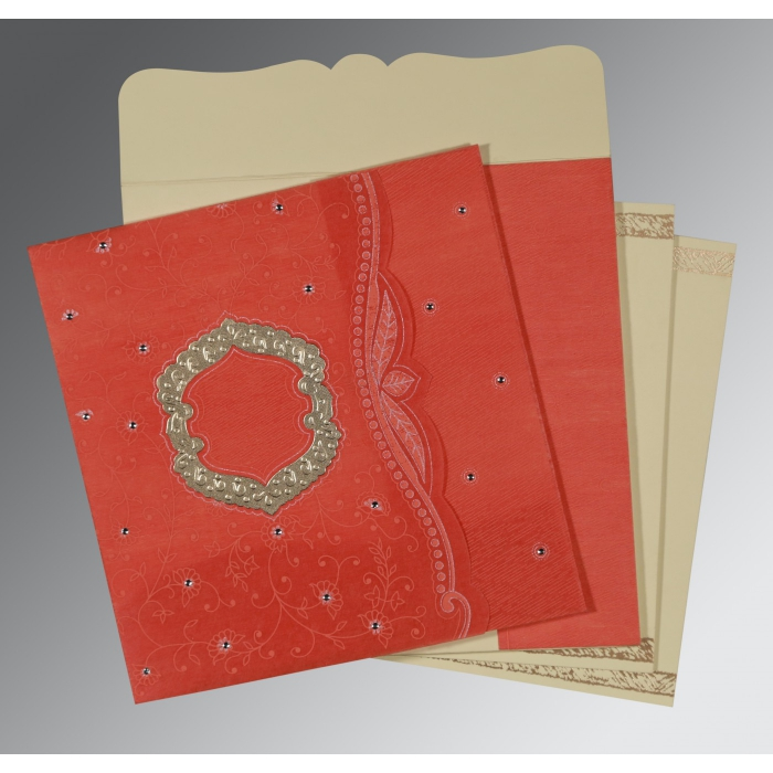 Designer Wedding Cards - D-8209M