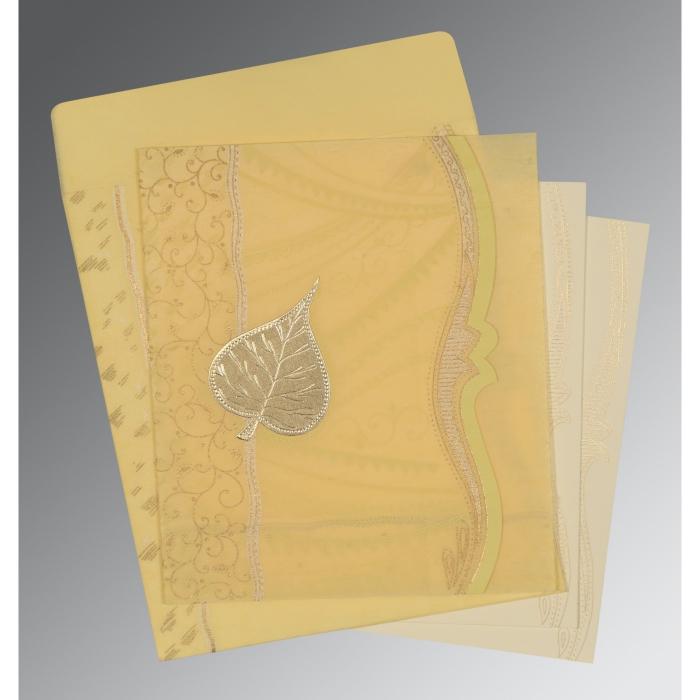Designer Wedding Cards - D-8210G