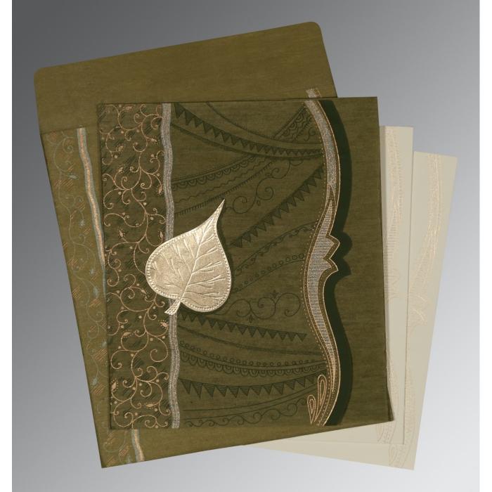 Designer Wedding Cards - D-8210I
