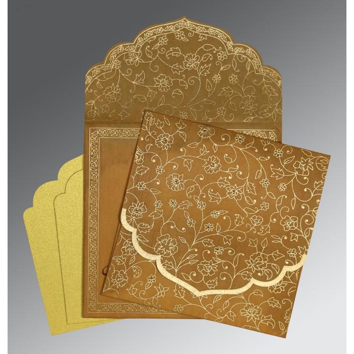 Designer Wedding Cards - D-8211E