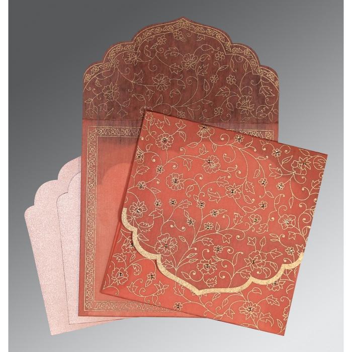 Designer Wedding Cards - D-8211J