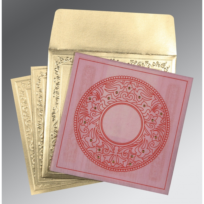 Designer Wedding Cards - D-8214F