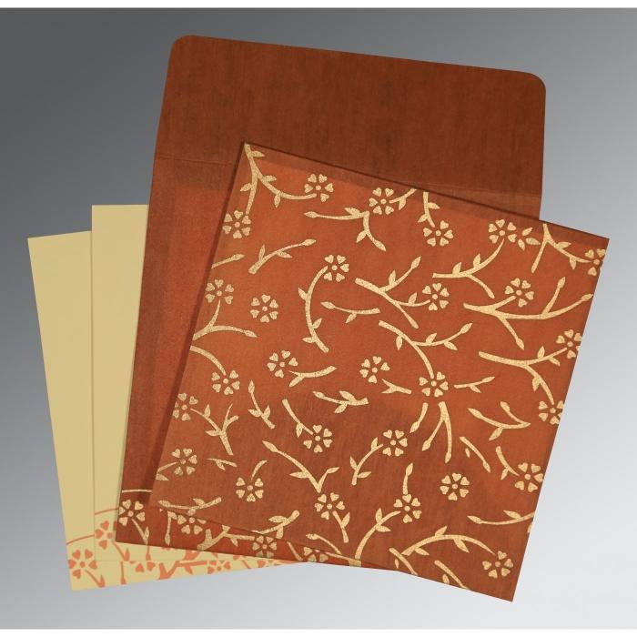 Designer Wedding Cards - D-8216E