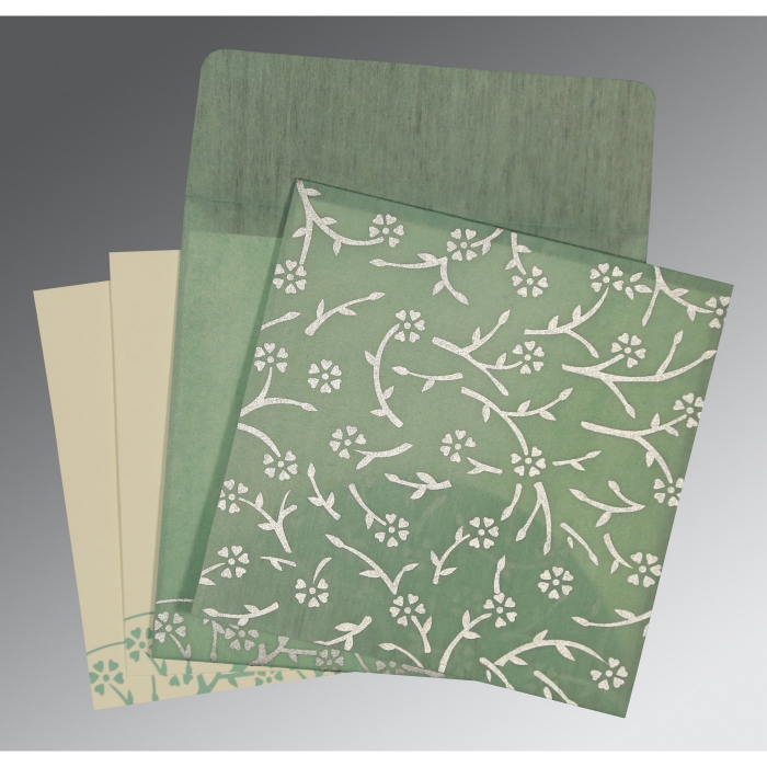 Designer Wedding Cards - D-8216F