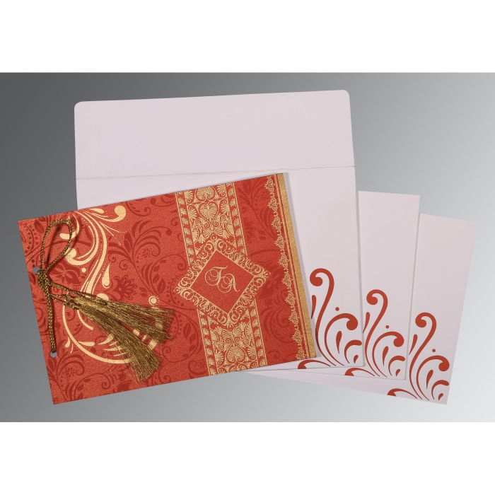 Designer Wedding Cards - D-8223F