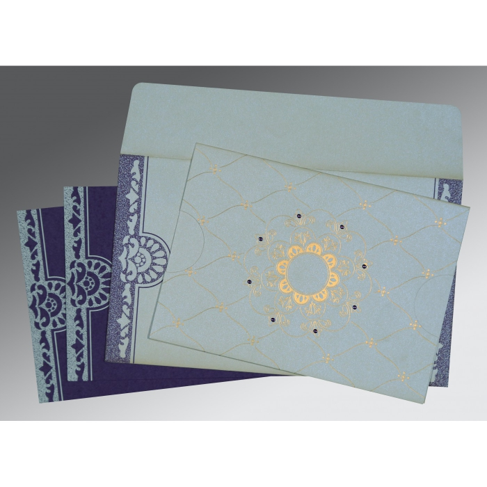 Designer Wedding Cards - D-8227E
