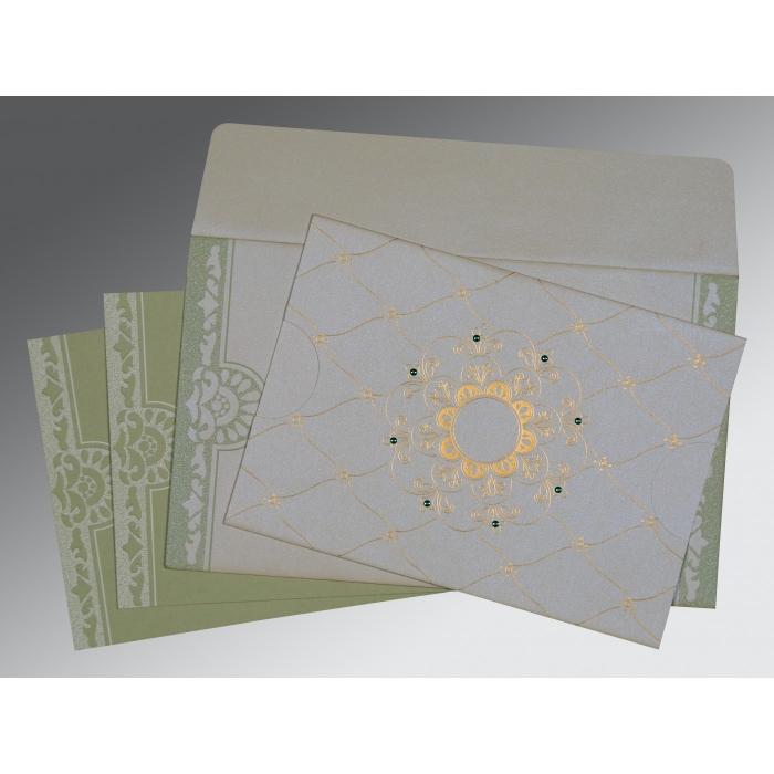 Designer Wedding Cards - D-8227J