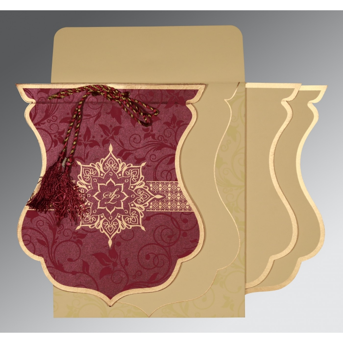 Designer Wedding Cards - D-8229K