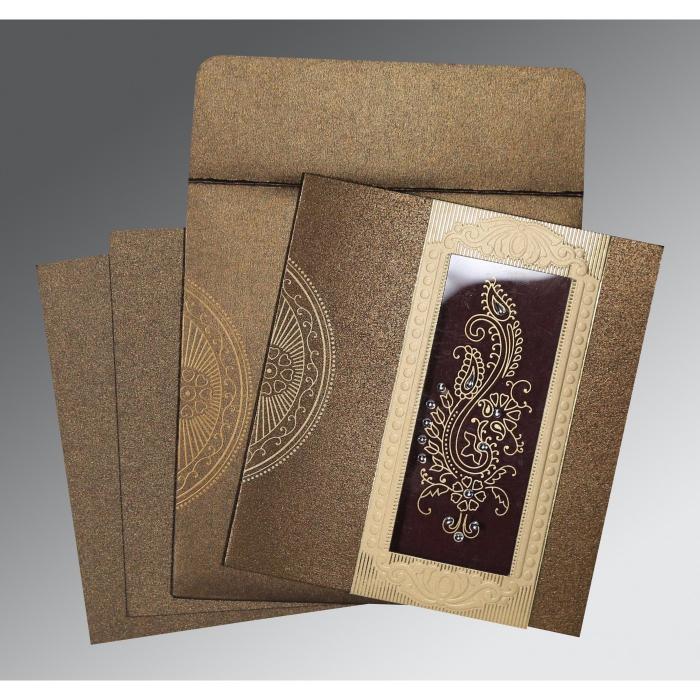 Designer Wedding Cards - D-8230M