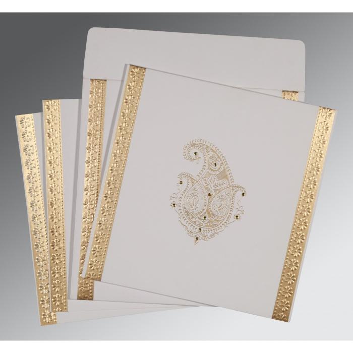 Designer Wedding Cards - D-8231J
