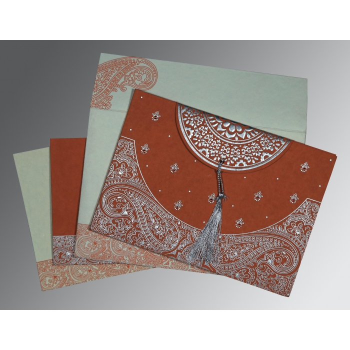 Designer Wedding Cards - D-8234F