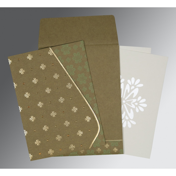 Designer Wedding Cards - D-8237E